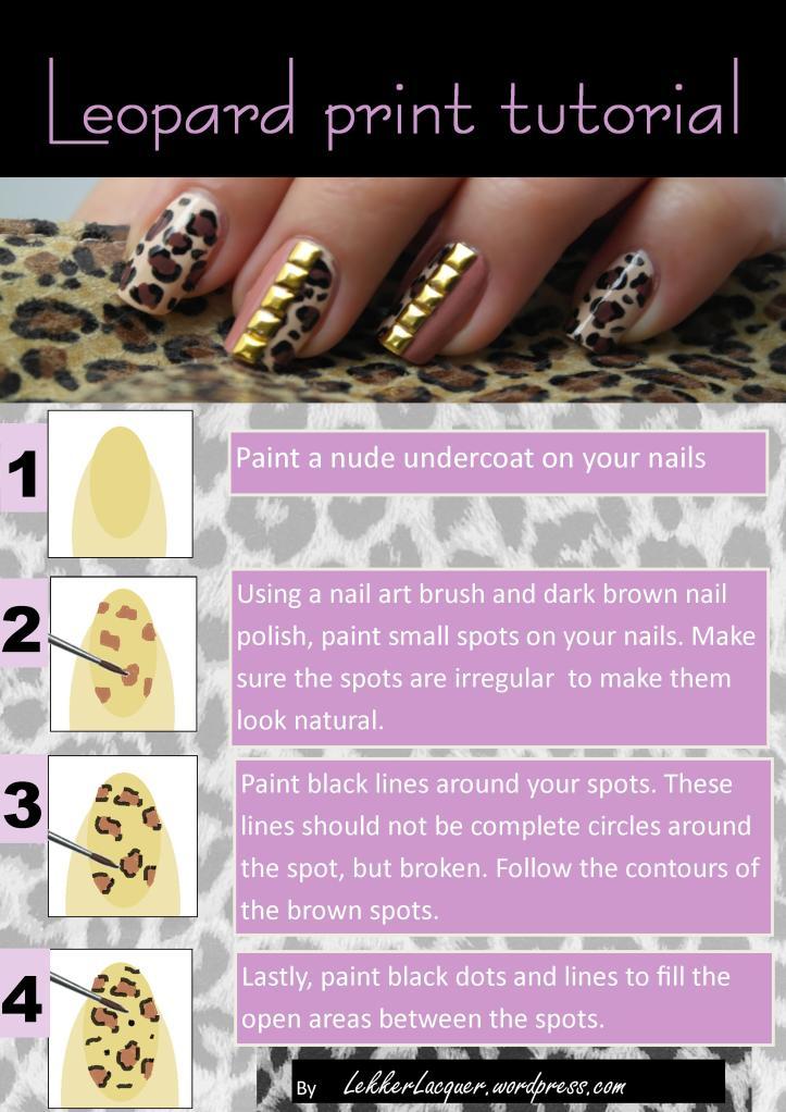 leopard print tutorial
